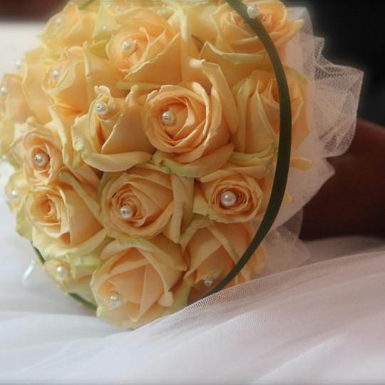 Brautstrauß runde form
