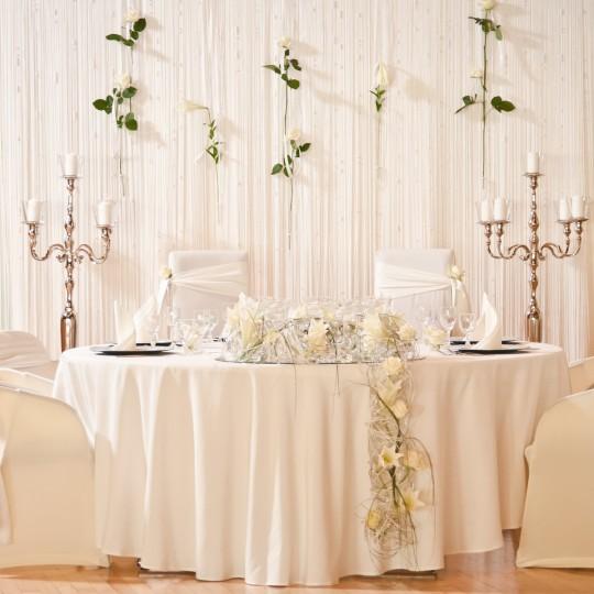 Brauttisch weiße lillien_1