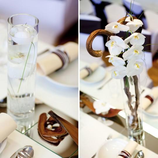 Tischdeko Orchidee