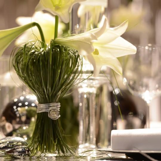 tischdeko weiße lilli (2)